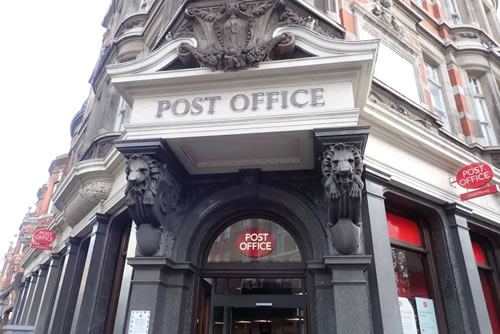 Gt Portland St Post Office